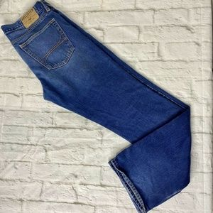 Hollister Mens jeans 34 x 34 Bootcut Button Fly
